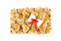 Bandeja de galletas fotos de archivo libres de regalías
