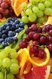 Bandeja de la fruta Fotos de archivo libres de regalías