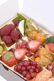 Bandeja de la fruta imagen de archivo