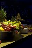 Bandeja de la fruta Imágenes de archivo libres de regalías