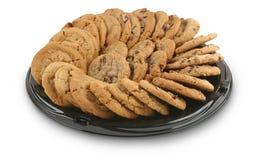 Bandeja de la galleta Imagen de archivo libre de regalías