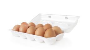Bandeja de ovos Imagens de Stock Royalty Free