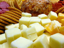 Bandeja de queijo Imagem de Stock Royalty Free
