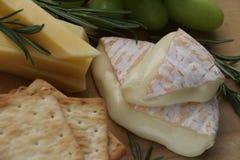 Bandeja de queijo Fotos de Stock Royalty Free
