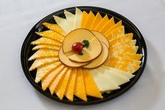 Bandeja de queso Imagen de archivo