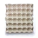 Bandeja del cartón del huevo Imagen de archivo libre de regalías