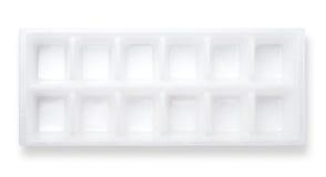 Bandeja del cubo de hielo Imágenes de archivo libres de regalías