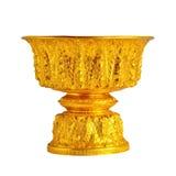 Bandeja del oro imágenes de archivo libres de regalías