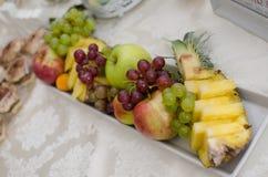Bandeja do fruto Fotografia de Stock Royalty Free
