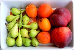 Bandeja do fruto Foto de Stock Royalty Free