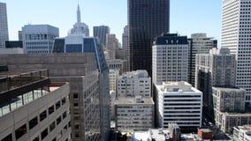 Bandeja do lapso de tempo do San Francisco Skyline vídeos de arquivo