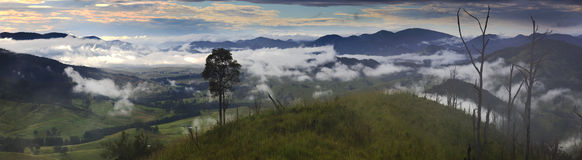 Bandeja do nascer do sol 01 da montagem de Btop Imagem de Stock Royalty Free