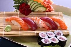 Bandeja do partido do sushi Imagem de Stock