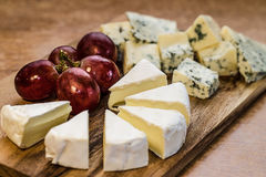 Bandeja do queijo Foto de Stock