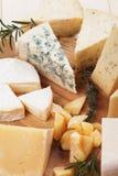 Bandeja do queijo Imagem de Stock