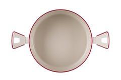 Bandeja nova da cozinha isolada no fundo branco Fotos de Stock Royalty Free