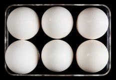 Bandeja para los huevos Fotos de archivo