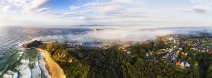 Bandeja sul da névoa do promontório 2 de D Nambucca Imagens de Stock