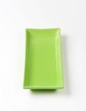 Bandeja verde imágenes de archivo libres de regalías