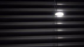 Bandeja vertical acima do jalousie Fundos pretos vídeos de arquivo