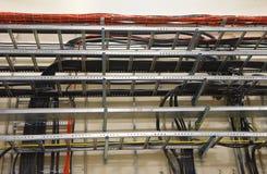 Bandejas de cable Fotos de archivo