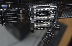 Bandejas del servidor Fotografía de archivo