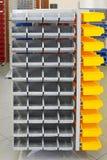 Bandejas do armazenamento Imagem de Stock Royalty Free