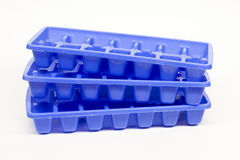 Bandejas do cubo de gelo Foto de Stock
