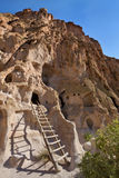 Bandelier National Monument. Cliff dwellings, Bandelier National Monument, NM Royalty Free Stock Photography
