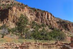 Bandelier National Monument and National Historic Landmark stock image