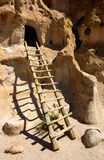 Bandelier National Monument. Ruins Anasazi Royalty Free Stock Images