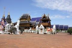 Banden寺庙,在chiangmai的美丽的寺庙 库存图片