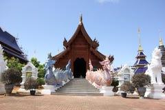Banden寺庙,在chiangmai的美丽的寺庙 图库摄影