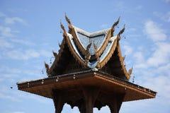 Banden寺庙,在chiangmai的美丽的寺庙 库存照片