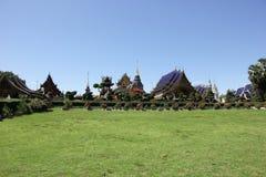 Banden寺庙,在chiangmai的美丽的寺庙 免版税图库摄影