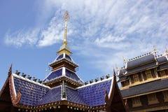 Banden tempel, härlig tempel i chiangmai Royaltyfri Foto