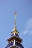 Banden tempel, härlig tempel i chiangmai Arkivbild