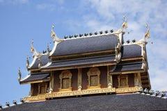 Banden tempel, härlig tempel i chiangmai Fotografering för Bildbyråer