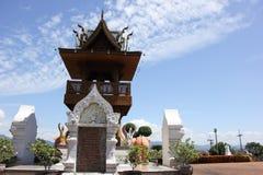 Banden tempel, härlig tempel i chiangmai Royaltyfri Fotografi