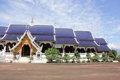 Banden tempel, härlig tempel i chiangmai Royaltyfria Foton