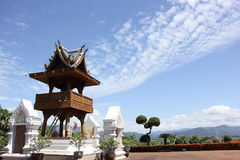 Banden Temple, Beautiful temple in chiangmai Royalty Free Stock Image