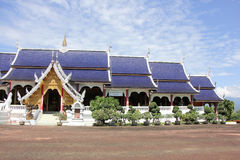 Banden Temple, Beautiful temple in chiangmai Royalty Free Stock Photos