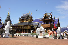 Banden Temple, Beautiful temple in chiangmai Stock Photography