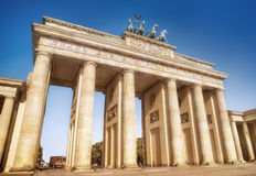 Bandenburger tor. Brandenburger tor in berlin germany Stock Image