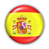 banderą Hiszpanii ilustracji