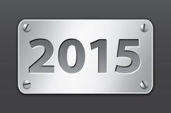 bandera 2015 Imagen de archivo libre de regalías