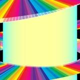 Bandera abstracta Fotos de archivo