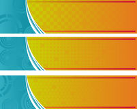 Bandera abstracta Fotografía de archivo libre de regalías