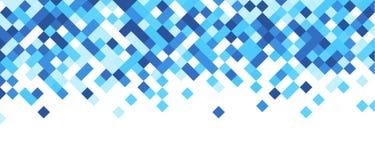 Bandera abstracta azul y blanca Fotos de archivo