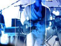 Bandera abstracta del concierto de la música Fotos de archivo libres de regalías